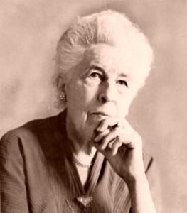 Ruth Stout sepia